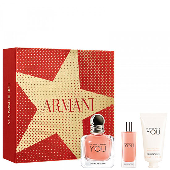 Emporio Armani In Love With You комплект 3 части 50 мл - EDP