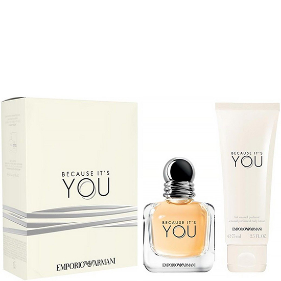 Emporio Armani Because It's You комплект 2 части 50 мл - EDP