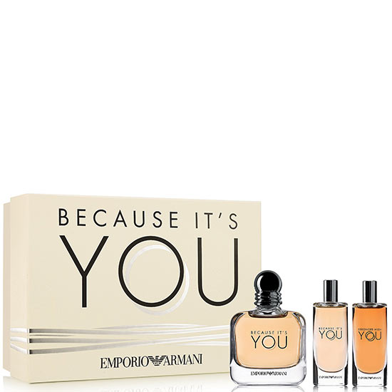 Emporio Armani Because It's You комплект 3 части 50 мл - EDP