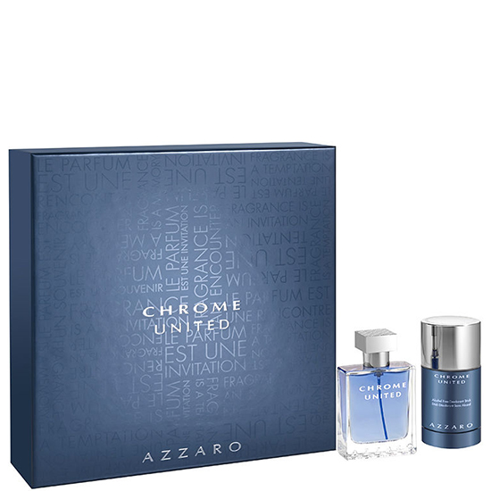 Azzaro CHROME UNITED комплект 2 части 50 мл - EDT