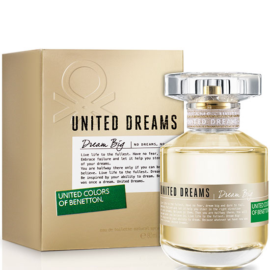 Benetton Unites Dreams Dream Big дамски парфюм