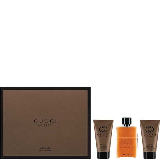 Gucci Guilty Absolutе комплект 3 части 90 мл - EDP