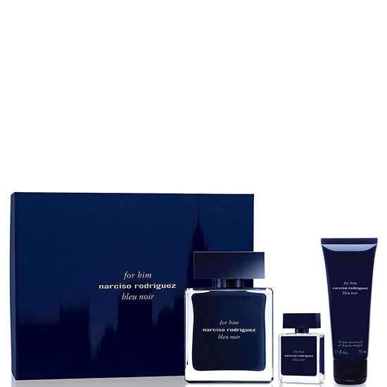 Narciso Rodriguez FOR HIM BLEU NOIR комплект 3 части 100 мл - EDT