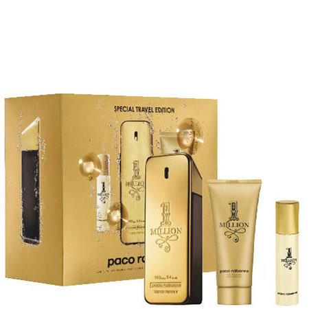 Paco Rabanne 1 MILLION комплект 3 части 100 мл - EDT