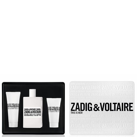 Zadig&Voltaire This is Her комплект 3 части 100 мл - EDP