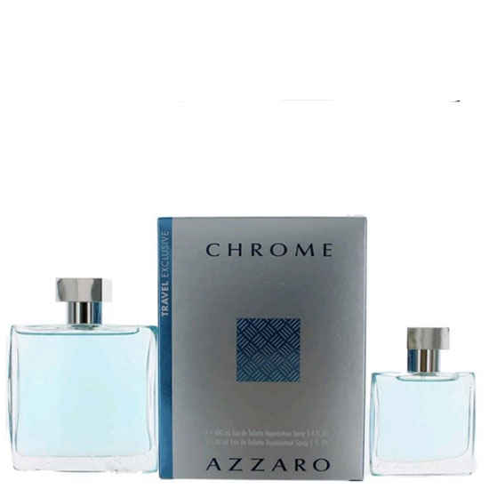 Azzaro CHROME комплект 2 части 100 мл - EDT