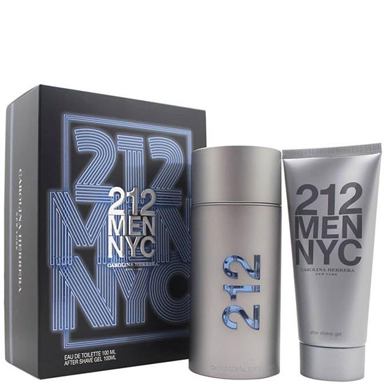 Carolina Herrera 212 Men комплект 2 части 100 мл - EDT