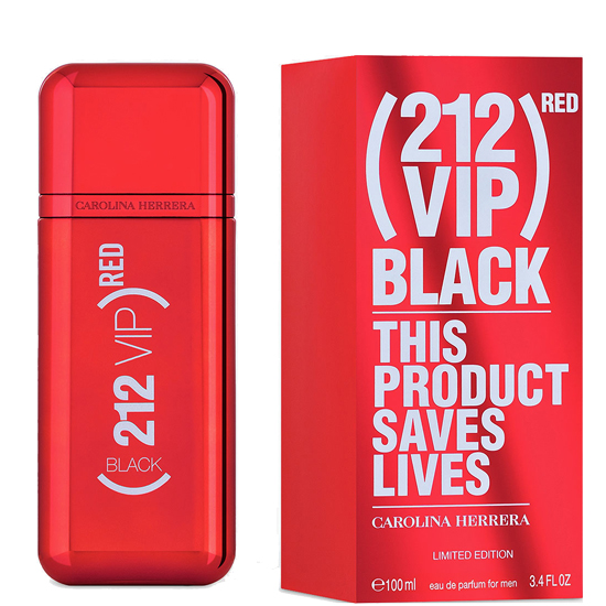 Carolina Herrera 212 VIP Black Red мъжки парфюм