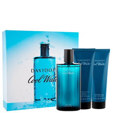 Davidoff COOL WATER комплект 3 части 125 мл - EDT