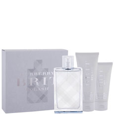 Burberry Brit Splash комплект 3 части 100 мл - EDT