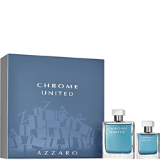 Azzaro CHROME UNITED комплект 2 части 130 мл - EDT