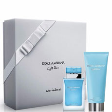 Dolce&Gabbana Light Blue Eau Intense комплект 2 части 50 мл - EDP