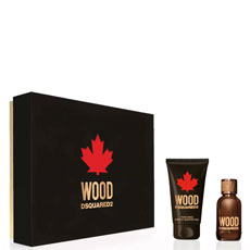 Dsquared Wood For Him комплект 2 части 30 мл - EDT