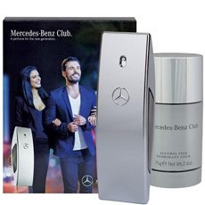 Mercedes Benz CLUB комплект 2 части 50 мл - EDT
