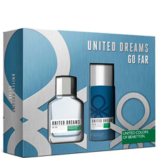 Benetton Unites Dreams Go Far комплект 2 части 100 мл - EDT